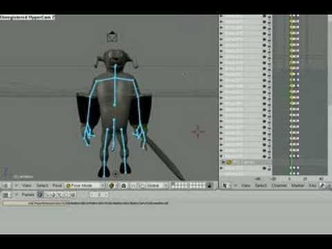 Blender tutorial: basic walk cycle