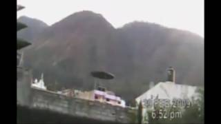 GRABAN ENORME OVNI EN MEXICO