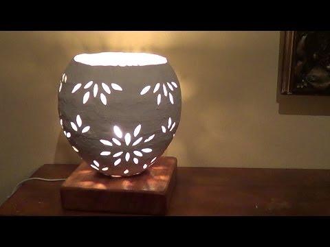 DIY -  luminaria de jornal - luminaria newspaper - luminaria hechas de periódicos
