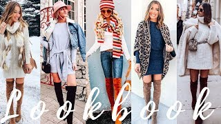 Stylish Outfit Ideas for February 2019    Winter Fashion Lookbook