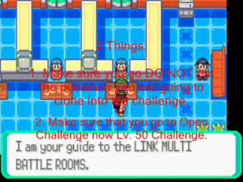 Pokemon Emerald Clone Cheat (emulator & GBA)