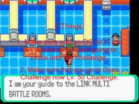 Pokemon Emerald Clone Cheat (emulator & GBA)