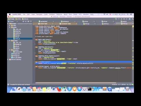 Python Django (урок 5) - язык шаблонов. Часть 1