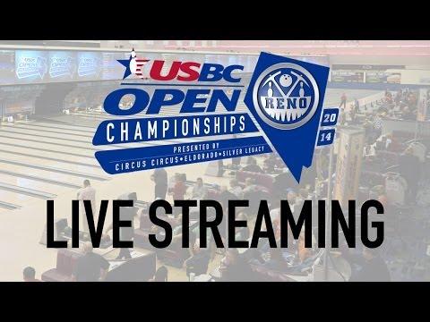 USBC Open Live Stream: Two-time titlist Steve Kloempken (Team)