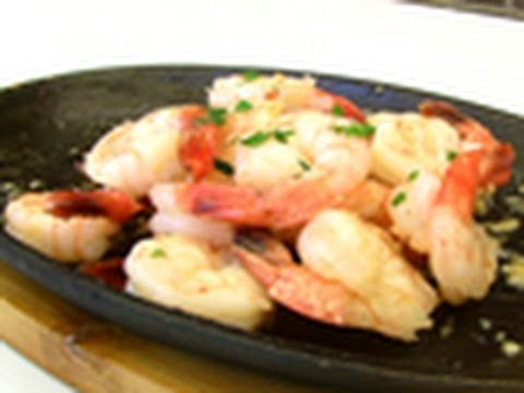 Garlic Prawns Video Recipe