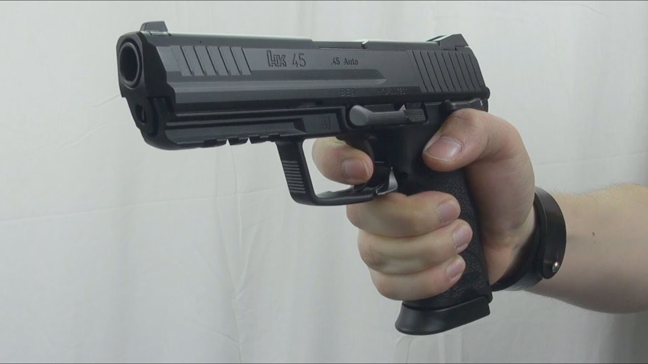 (Airsoft) HK45 Tokyo Marui from Impulse101 - YouTube
