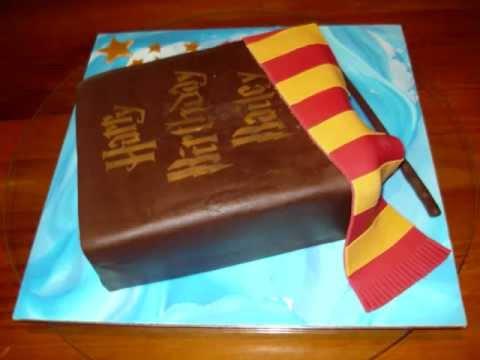 Youtube Harry Potter Cake