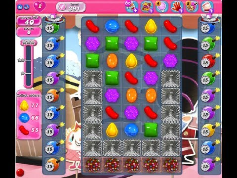 Candy Crush Saga Level 391 NO BOOSTER
