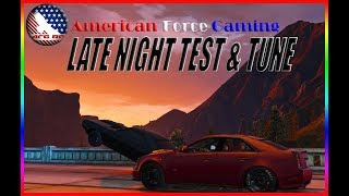 LATE NIGHT TEST & TUNE SESSION W/ DIESEL SWAPPED CUDA, MUSTANG, AND CTSV - FIVEM