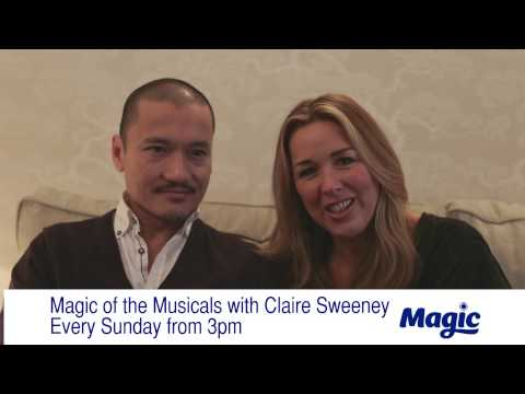 Welcome to Magic of Musicals with Claire Sweeney