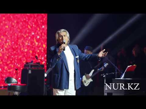 Тото Кутуньо спел на казахском языке в Астане