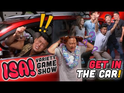 Get in the Car Challenge! - ISA! VARIETY GAME SHOW Season 2 Pt. 2