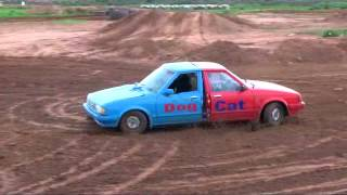 Crazy car produced by the Loveday 4x4 park crew 4wd action home made