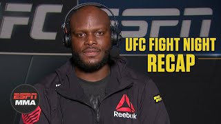 Derrick Lewis breaks down TKO win vs. Aleksei Oleinik | UFC Fight Night Post Show | ESPN MMA