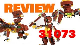 LEGO 31073 REVIEW | Reviews In My Microwave | CREATOR Mythical Creatures