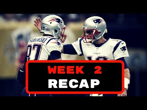 NFL Week 2 2017 Recap + Week 3 Fantasy Football Waiver Wire Targets!