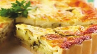 Quiche au poulet et cottage cheese