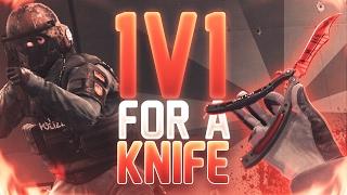 1V1ing A STRANGER FOR A KNIFE!