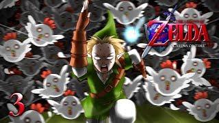 THE CUCCO CONUNDRUM - Let's Play - The Legend of Zelda: Ocarina of Time 3D - 3 - Walkthrough