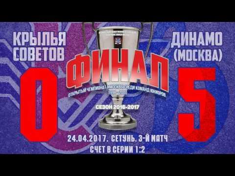 Крылья Советов-Динамо 0:5 (3 игра)