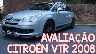 Avaliação Citroen C4 VTR 2008 - um esportivo muito divertido da Citroën