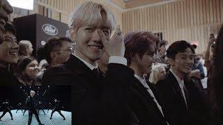 Download lagu SuperM Reaction to 'Jopping' MV @SuperM Premiere Event