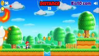 How to play Super Mario Run game | Free online games | MantiGames.com
