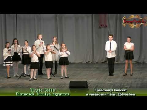 Yingle Bells: Kistücsök furulya együttes - Karácsonyi koncert a vásárosnaményi Eötvösben
