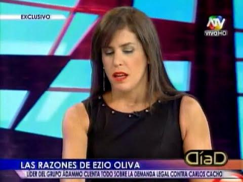 Ezio Oliva presenta demanda contra Carlos Cacho