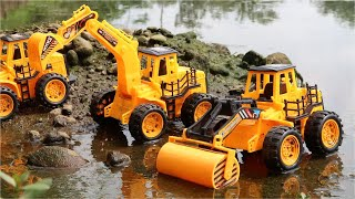 VIDEO MAINAN BEKO EXCAVATOR ANAK | ZHAFIRAH TOYS