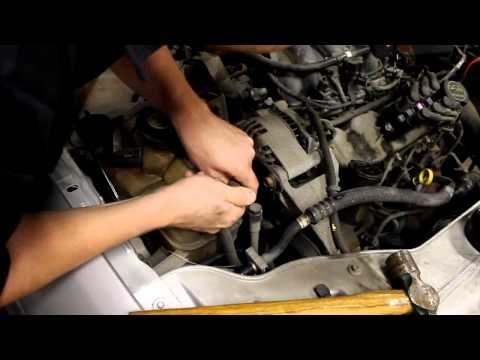 Changing Idler Pulley on a Ford Taurus