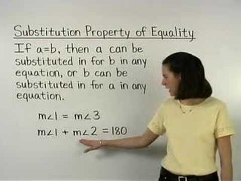 Property of Equality Geometry Property of Equality