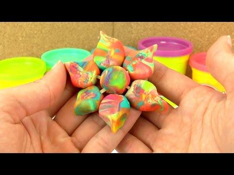 Essbare Knete Selber Machen Aus Marshmallows Susse Play Doh