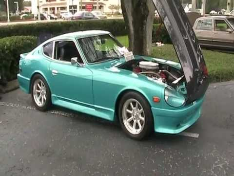 1973 DATSUN 240Z WITH A CHEVY 350 V8 MOTOR AND 4 SPEED ...