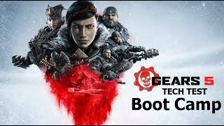 Gears 5 BOOT CAMP Game Play (No Commentary)