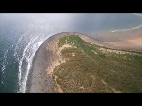 TARAN-TULA AIR Redcar Beach The Gare and WindFarm 26062015