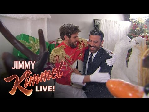 John Krasinski and Jimmy Kimmel's Christmas Prank War