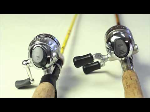 Zebco Omega and Pflueger Cetina spin cast fishing reel review