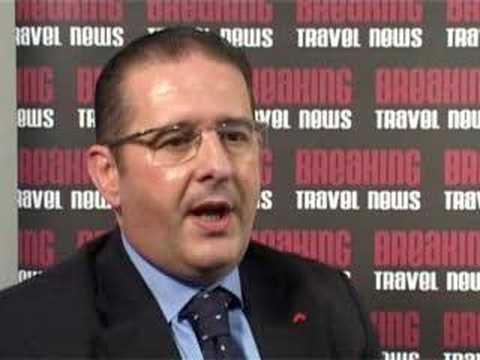 Aurielio Giraudo, General Manager, Swissotel Bangkok @ WTM 2007