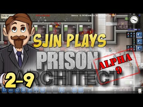 Prison Architect Alpha #9 - 2 - 9: Welcome to Yogatraz