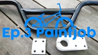 BMX Restoration Ep. 3: Paint Job