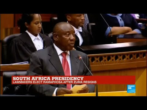 South Africa: President-elect Cyril Ramaphosa speaks in Parliament MP3