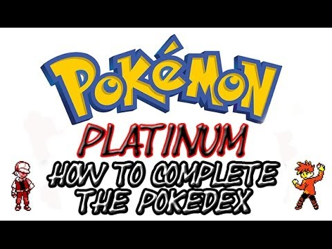 How To Complete The Pokedex in Pokemon Platinum (Action Replay)
