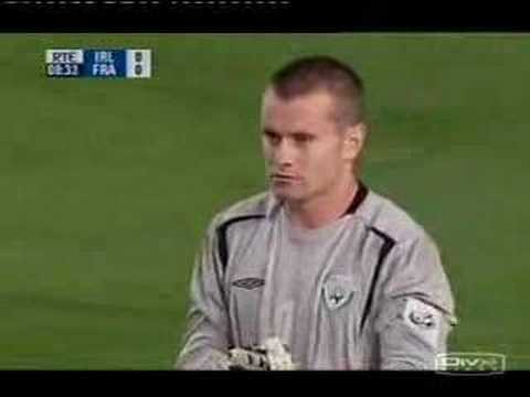 shay given magnificent save against zidane