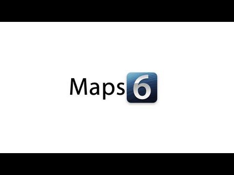 iOS 6: Maps