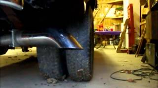 OBS 7.3L Powerstroke Exhaust, Stock vs Open Turbo Back