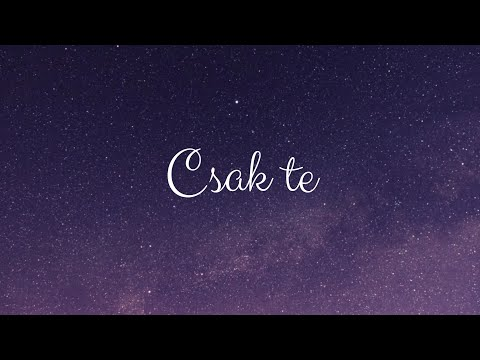 MECKS - CSAK TE (OFFICIAL LYRIC VIDEO)
