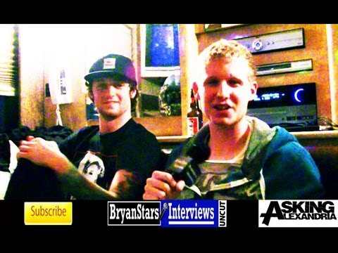 Asking Alexandria Interview #3 James Cassells & Sam Bettley UNCUT 2013