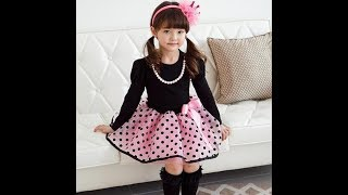 New fashion for baby girls dresses