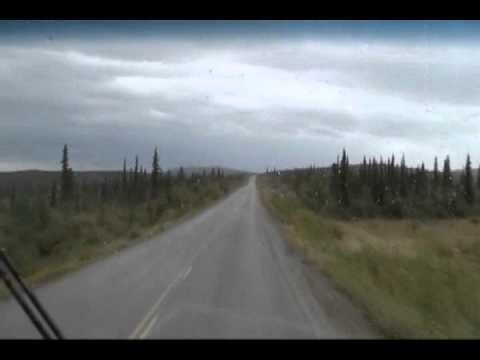 Chicken, Alaska to Dawson City, Yukon over the Taylor Highway